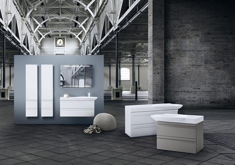 Be Modern Bathroom Furniture WC Unit Walnut