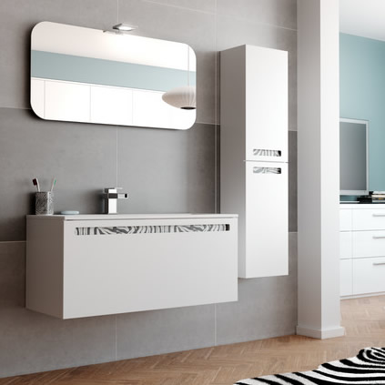 Lastest Stylish Modular Esperanto Bathroom Furniture Collection  DigsDigs