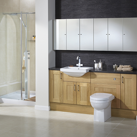 Fitted Bathroom Furniture Oceanbay Bathrooms East Kilbride