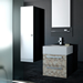 Be Modern Prima Range Curved Mistral Basin Unit